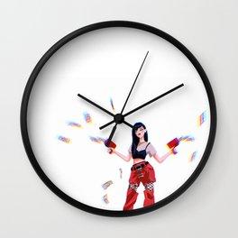Red Velvet Seulgi Wall Clock