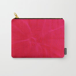 spiral warped red Carry-All Pouch