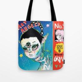 Grimes - Art Angels Tote Bag