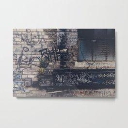 Underground living Metal Print