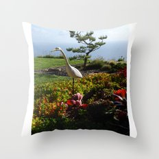 Master of the Garden  Throw Pillow