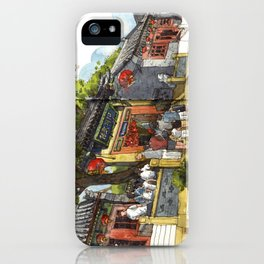 Chinese Temple in Qingdao iPhone Case