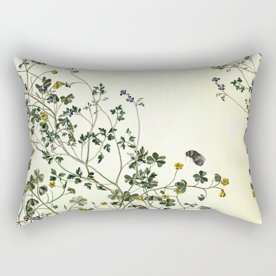 The cultivation of wild Rectangular Pillow