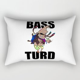BASS TURD MEME GRAPHIC Rectangular Pillow