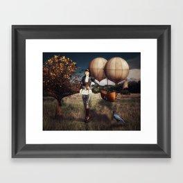 Flight of Fancy (Steampunk) Framed Art Print
