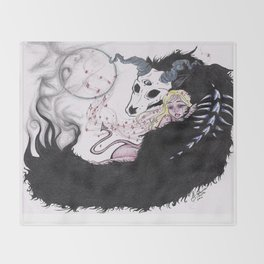 Hades & Persephone Throw Blanket