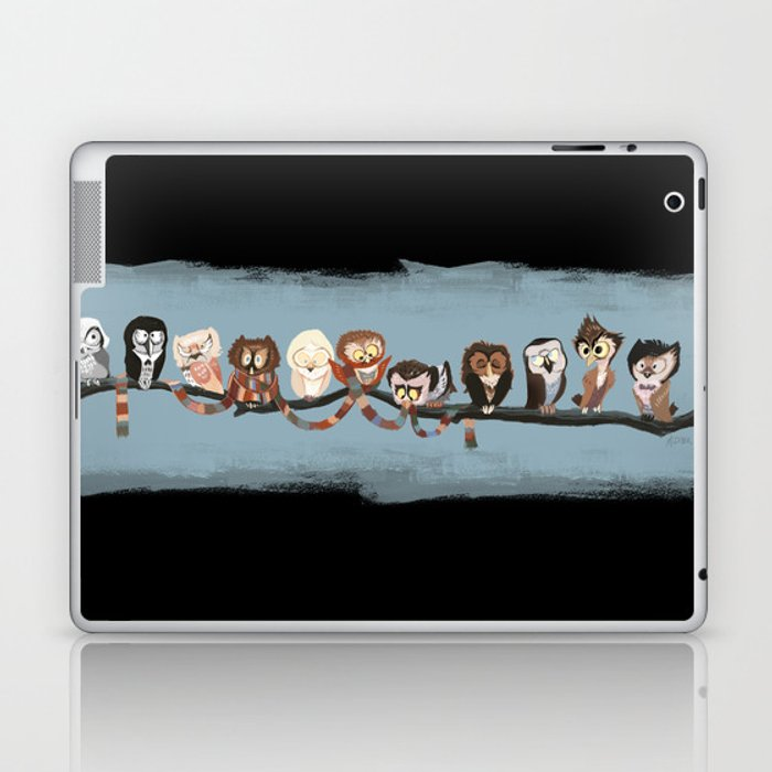 Doctor Hoo - Painted Version Laptop & iPad Skin