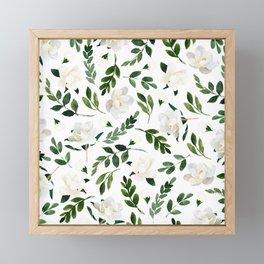 Magnolia Tree Framed Mini Art Print