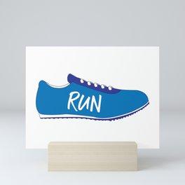 Running Shoes Mini Art Print