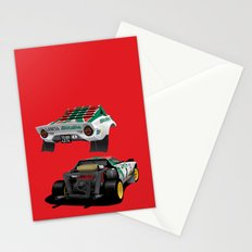 Lancia Stratos Stationery Cards