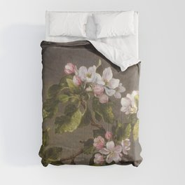 Flower basket (ca 1872) by Currier  Ives Comforters
