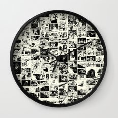 Pipien Molestus abnormal edition Wall Clock