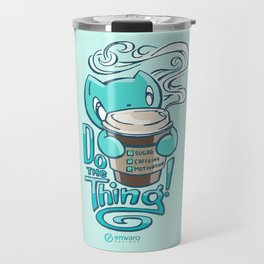 Skribbles: DO THE THING Travel Mug