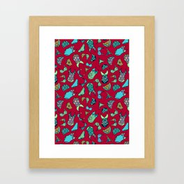 UNDERWEAR LOVE: Little Luxuries Framed Art Print