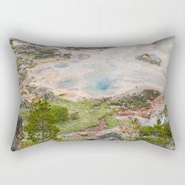 The Great and Wild Basin of Life Rectangular Pillow