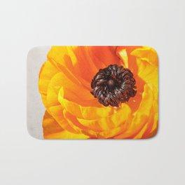 Orange Poppy, Stigma and Anther Bath Mat