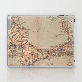 Vintage Map of Cape Cod MA (1905) Laptop & iPad Skin