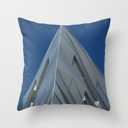 Belfast Iconic Shipbuilding   Throw Pillow