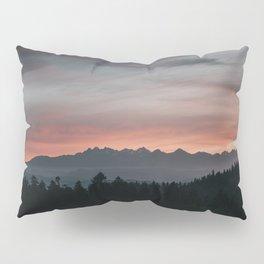 Mountainscape - Landscape and Nature Photography Pillow Sham
