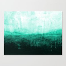 Paint 8 abstract minimal modern water ocean wave painting must have canvas affordable fine art Canvas Print