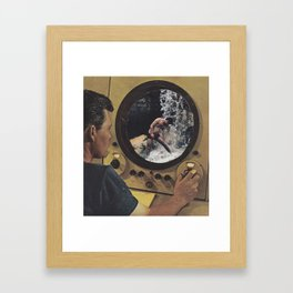 Control & Desire Framed Art Print