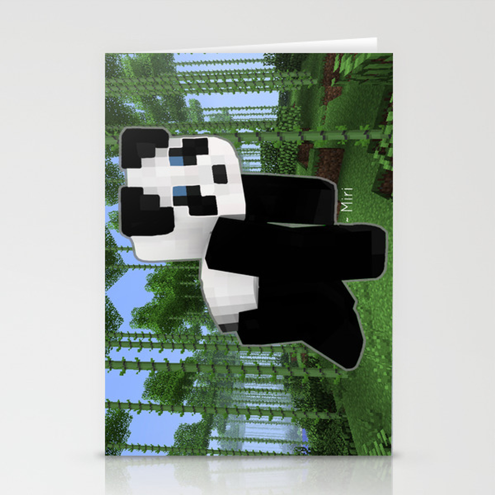 Panda Bear Stationery Cards by Cookie4eva CRD6536190
