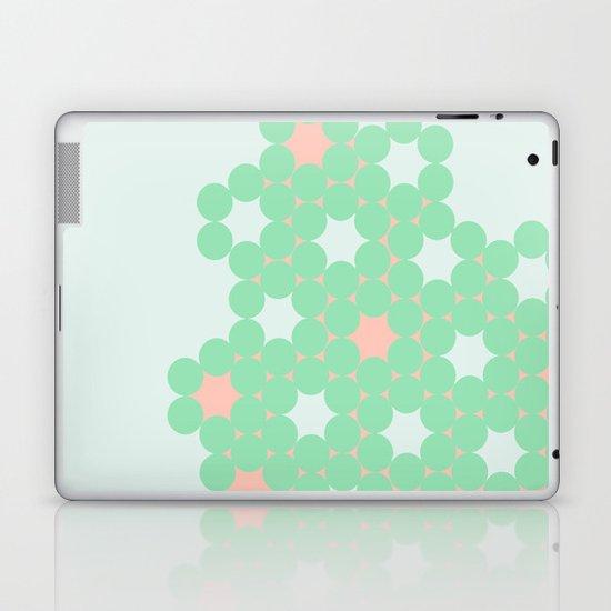 Teal Dot Laptop & iPad Skin