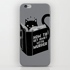 How to get away with murder iPhone & iPod Skin