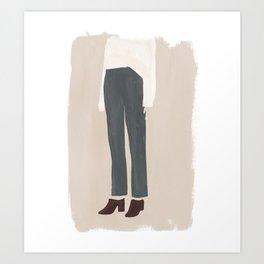 Break the Mules Art Print