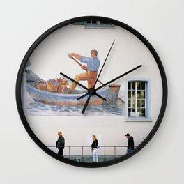 Zurich Truman Show Wall Clock