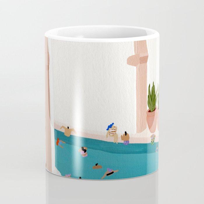 Alcove pool Coffee Mug