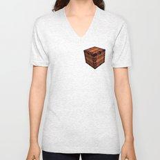 The Cube 5 Unisex V-Neck