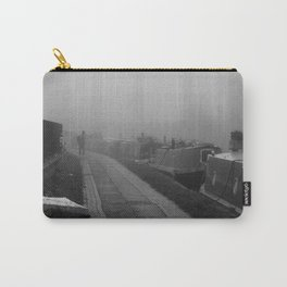 London Fog in Regents Canal III  by Diana Eastman Carry-All Pouch