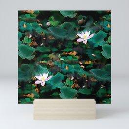 Lotus - A Pattern Mini Art Print