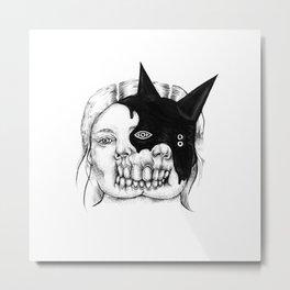 Evil on Your Mind 03 Metal Print