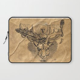 Fortune Favors The Bold Laptop Sleeve