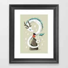 Dragon Spirit Framed Art Print