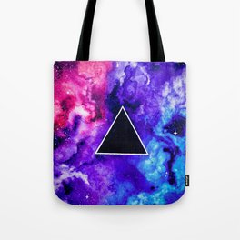 Black Hole Trinity Tote Bag