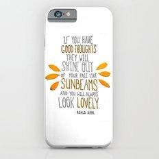 Sunbeams iPhone 6s Slim Case