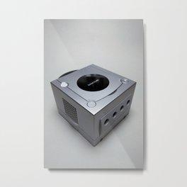 Nintendo GameCube Metal Print