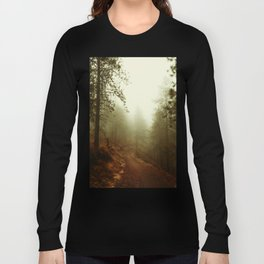 Autumn in Ponderosa Pines Forest Long Sleeve T-shirt