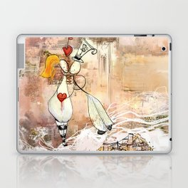 The thread of love Laptop & iPad Skin