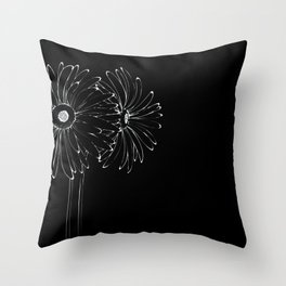 Cosmic lover. Throw Pillow