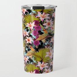 tropical lilly Travel Mug