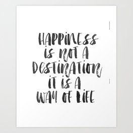 Inspirational Quote Happiness Quote Hustle Quote Print Typography Print Quote Buddha Quote Buddha Art Print