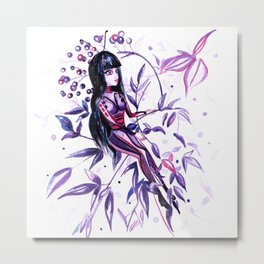 Dessi living as a Butterfly Metal Print