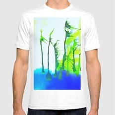 Tres Palmas Mens Fitted Tee White MEDIUM