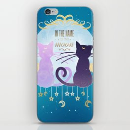 In the name of the moon iPhone Skin