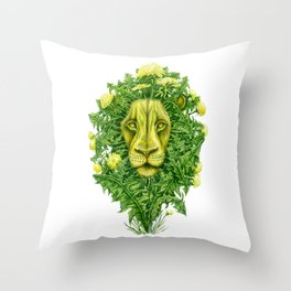 DandyLion Throw Pillow