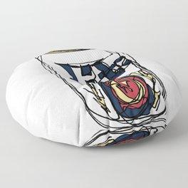 Miller Lite Can Floor Pillow